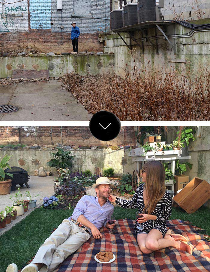 Before & After: Brooklyn Backyard Makeover