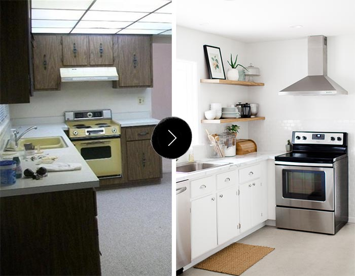 Before & After: Jenny's Kitchen Makeover