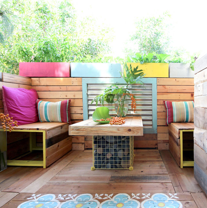 Before & After: Ananda's Patio Makeover | Design*Sponge