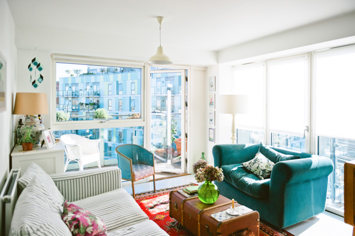 A New-Build London Flat with Aged Charm | Design*Sponge