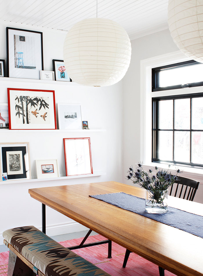 An Artist's Lively, Toronto Renovation, Design*Sponge