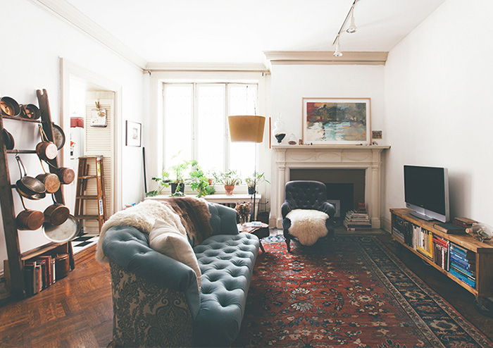 This Painter's Baltimore Home Embodies Vintage Ease, Design*Sponge
