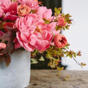 How to Create a Ruffled Flower Centerpiece