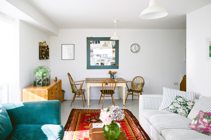 A New Build London Flat With Aged Charm Design Sponge