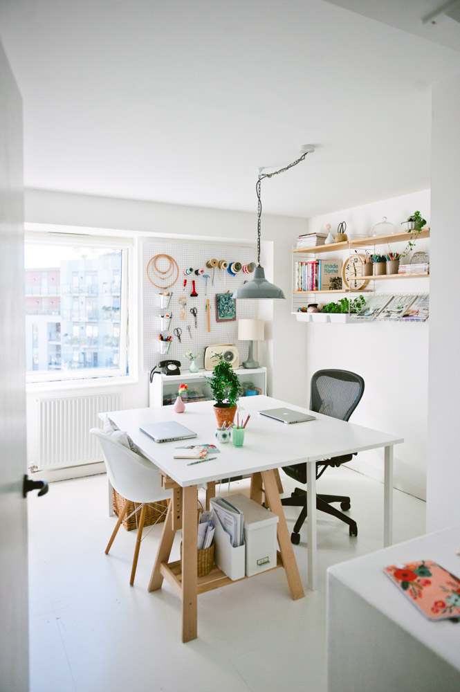 A New-Build London Flat with Aged Charm – Design*Sponge