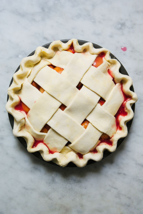 Apricot and Raspberry Pie-8847