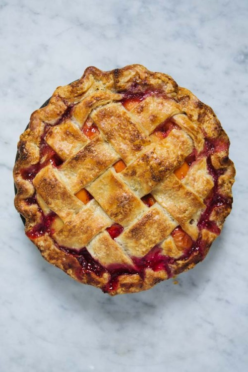 Apricot and Raspberry Pie-8876