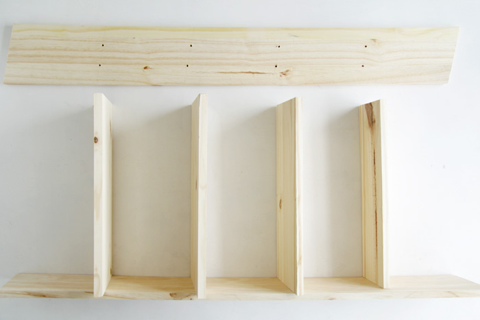 DIY Ladder Shelf 14