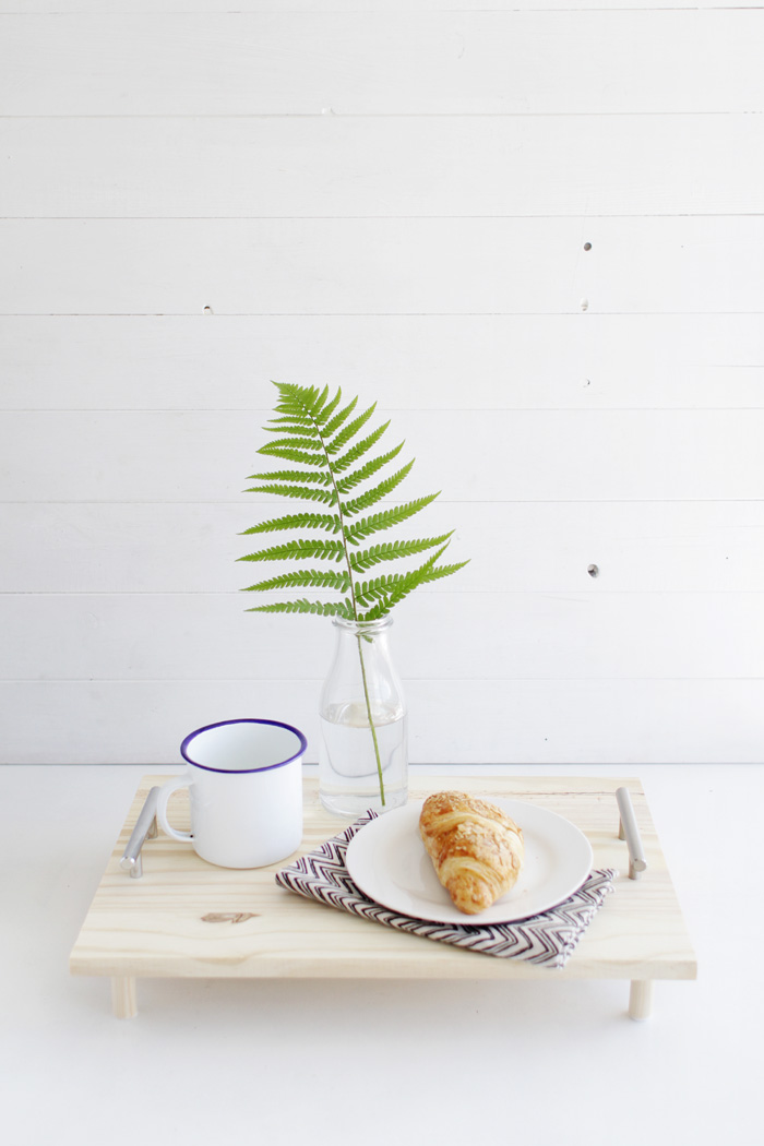 DIY Pine Serving Tray