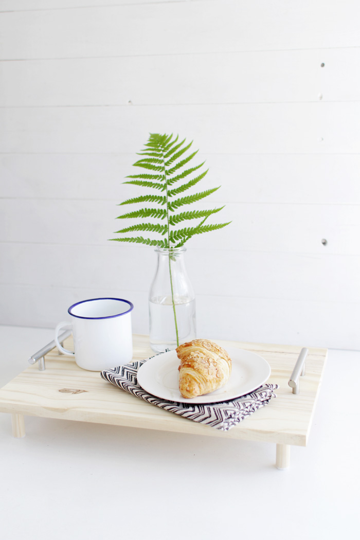 DIY Pine Serving Tray 11