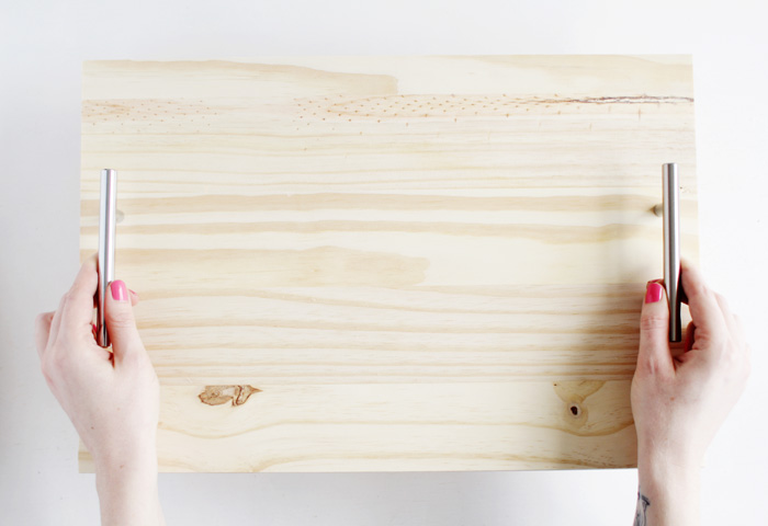 DIY Pine Serving Tray 4