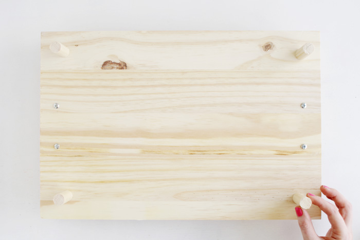 DIY Pine Serving Tray 8