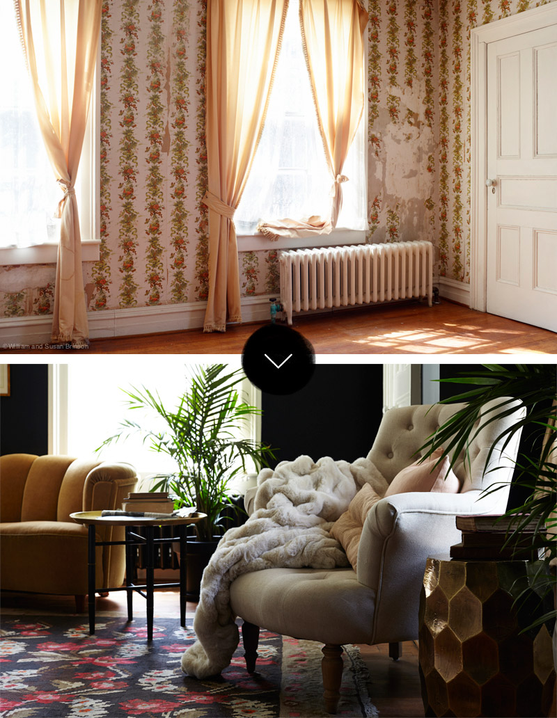 Before & After: The Young Duchess Room at Stony Ford, on Design*Sponge