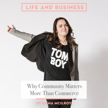 WHY COMMUNITY MATTERS MORE THAN COMMERCE