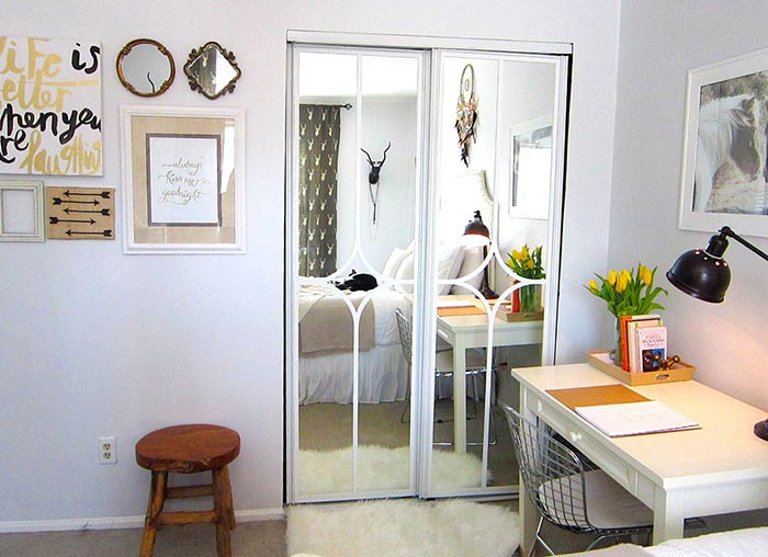 Before & After Closet Door Makeover on Design*Sponge