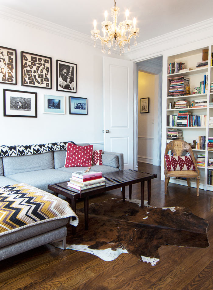 Two Menswear Designers' Layered yet Orderly Co-Op, Design*Sponge