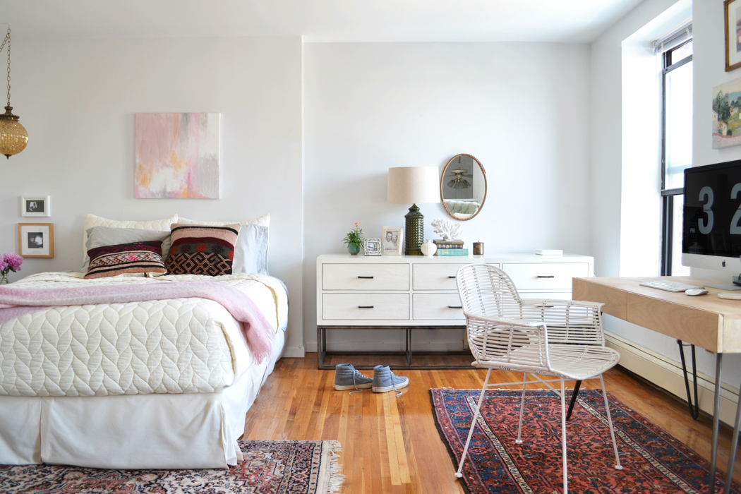 Overlooking Nyc A Lofted Studio Filled With History