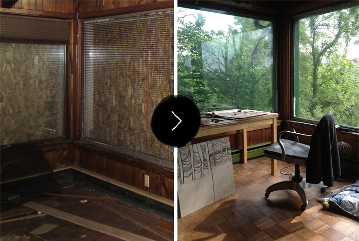 Before & After: Calumet Artist Residency, on Design*Sponge
