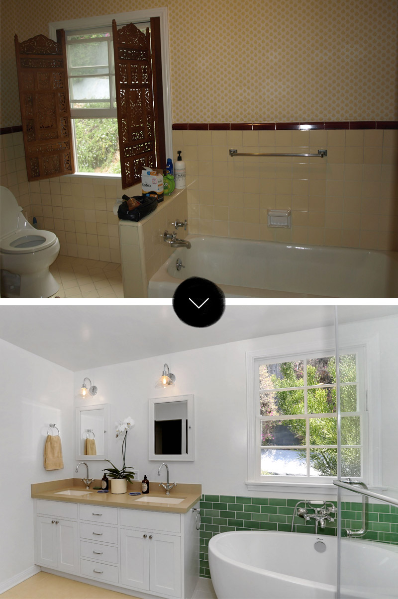 Before & After: Bronson Canyon Home Makeover, on Design*Sponge