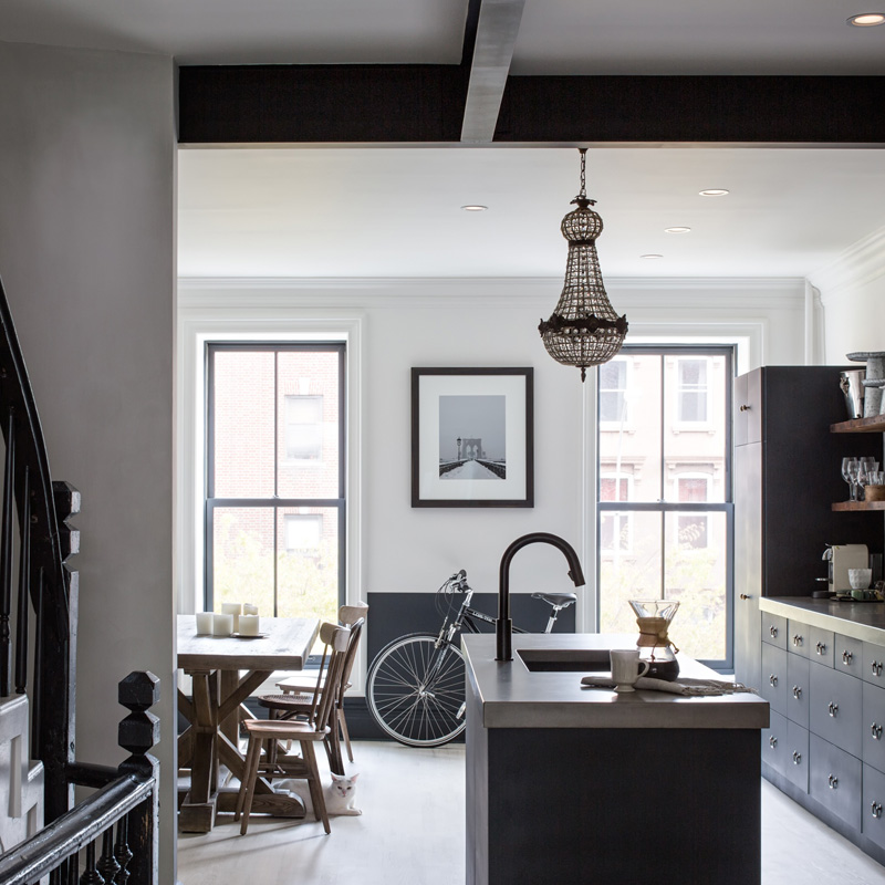 A Uniquely Renovated 1886 Brownstone Nestled in Clinton Hill, Brooklyn