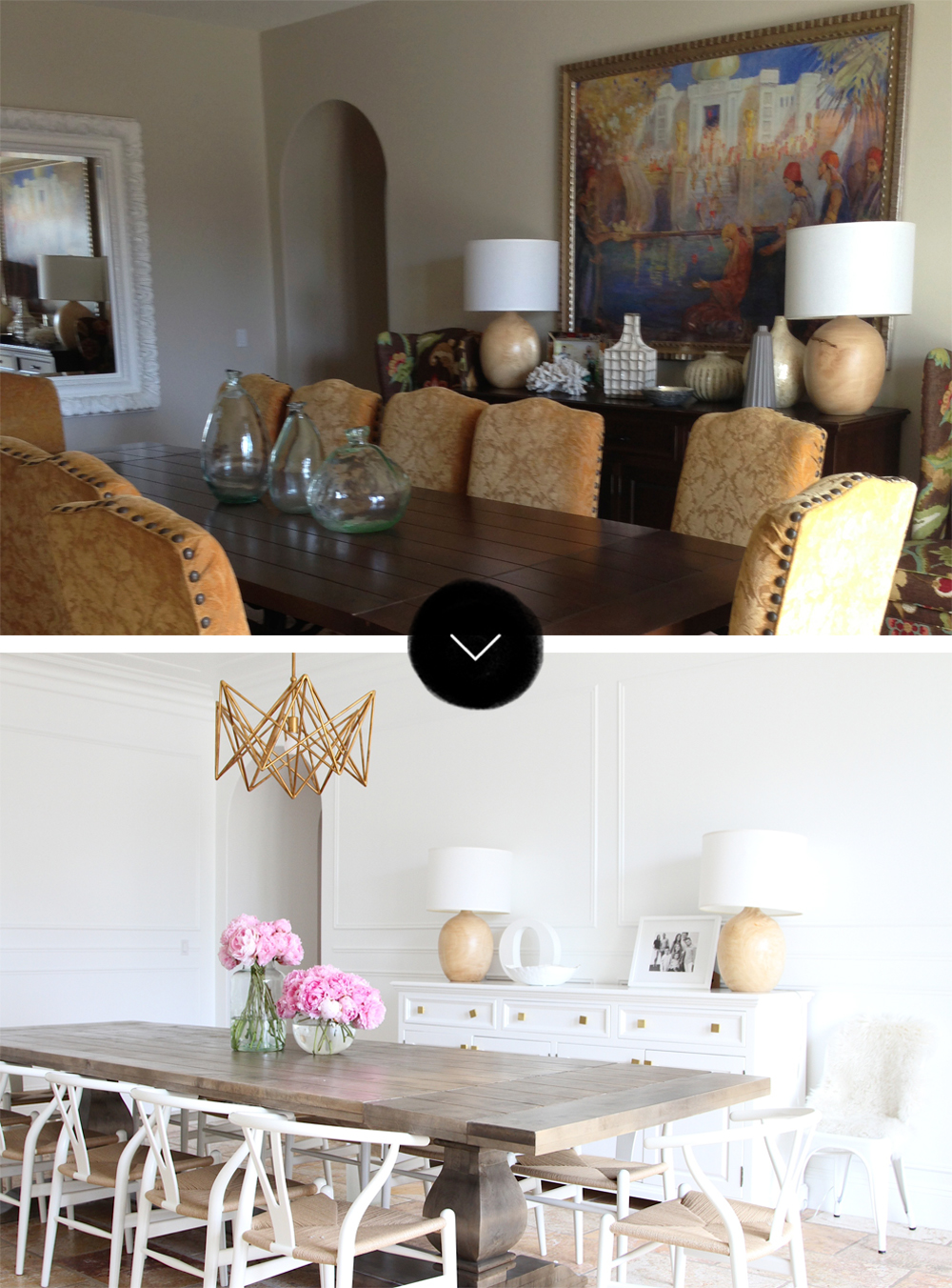Before & After: A San Clemente Tuscan Tract House, on Design*Sponge