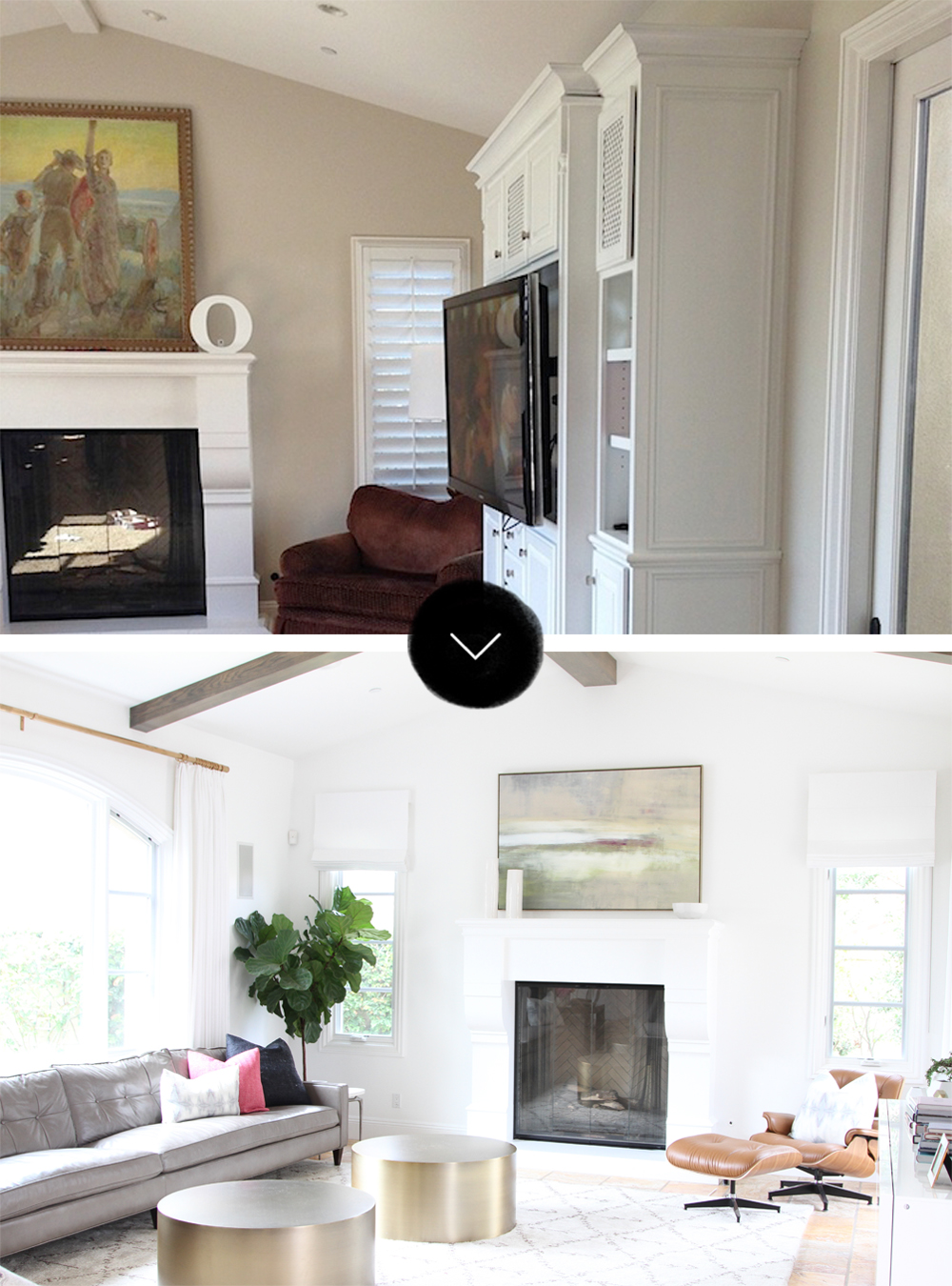 Before & After: A San Clemente Tuscan Tract House – Design*Sponge