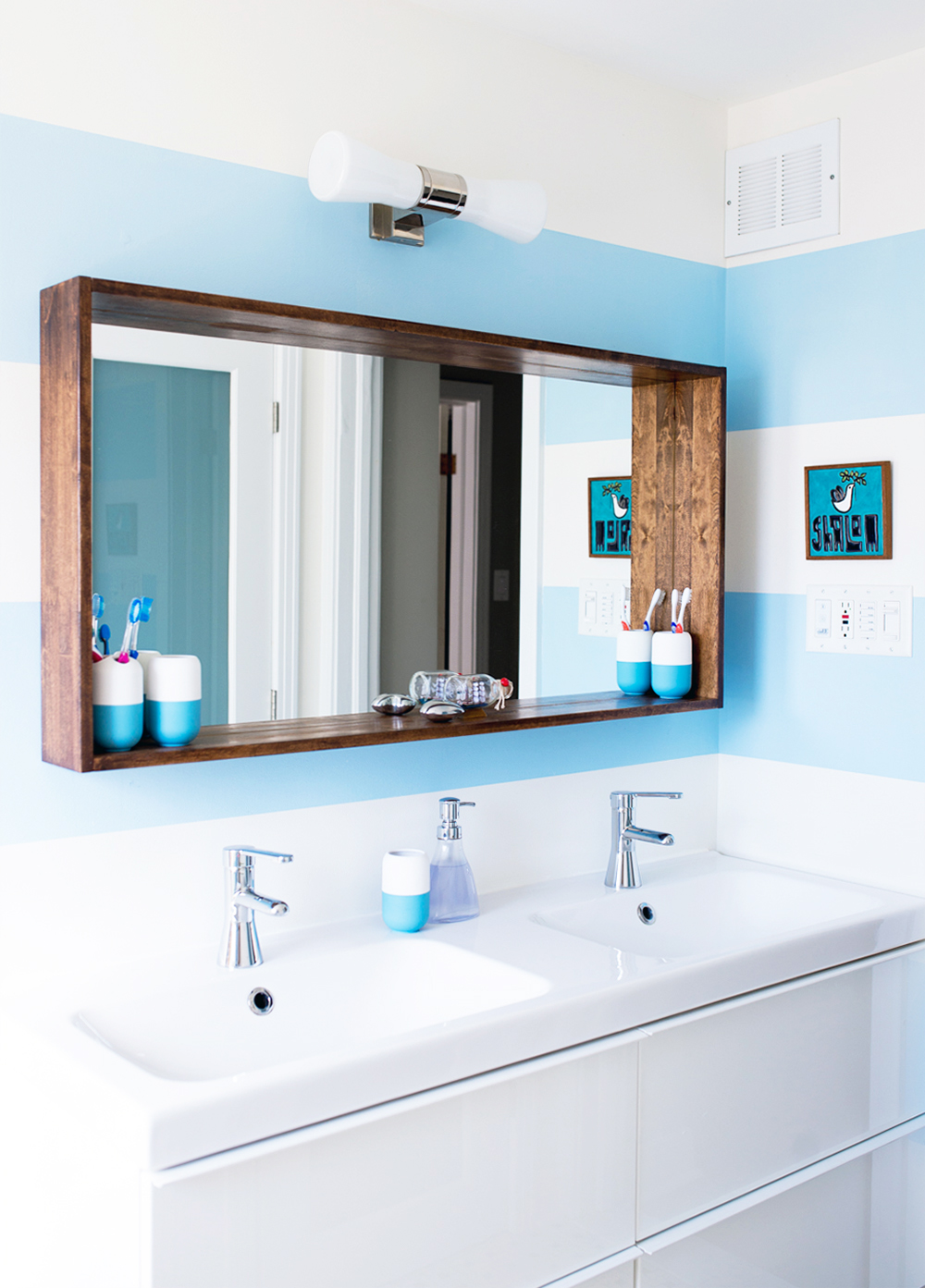 Before & After: A Big Sea of Bright, on Design*Sponge