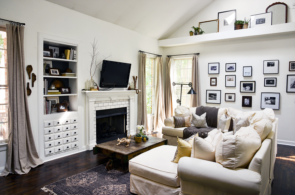 Before & After: A Reclaimed Traditional Brick Foreclosure, on Design*Sponge