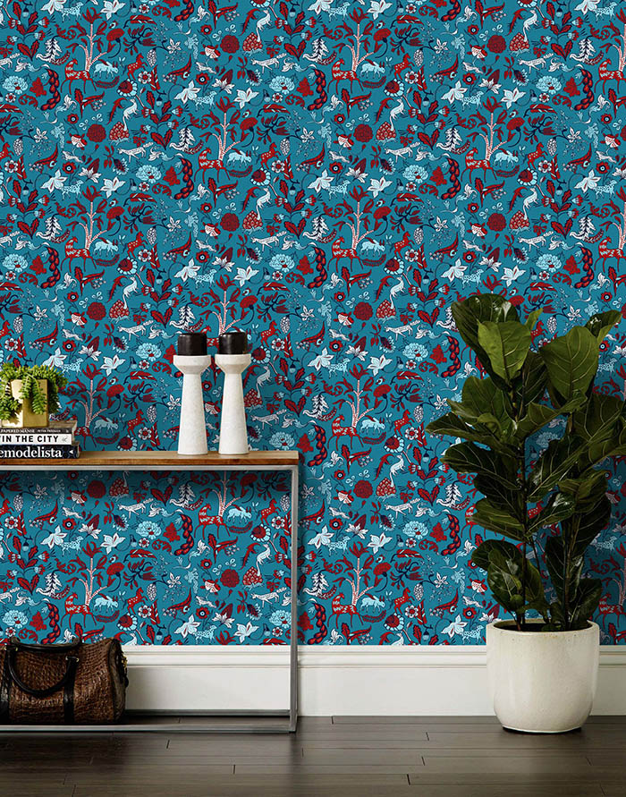 New Julia Rothman Wallpaper For Hygge Amp West Design Sponge