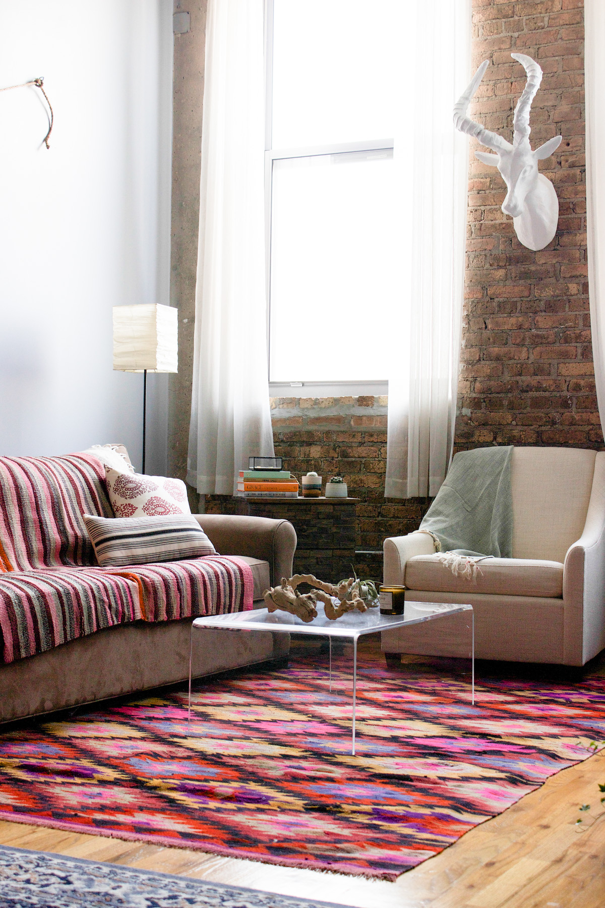 A Colorful Home in An Old Chicago Calculator Factory, Design*Sponge