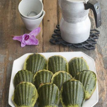 In the Kitchen With: Y. Lee's Matcha Madeleines