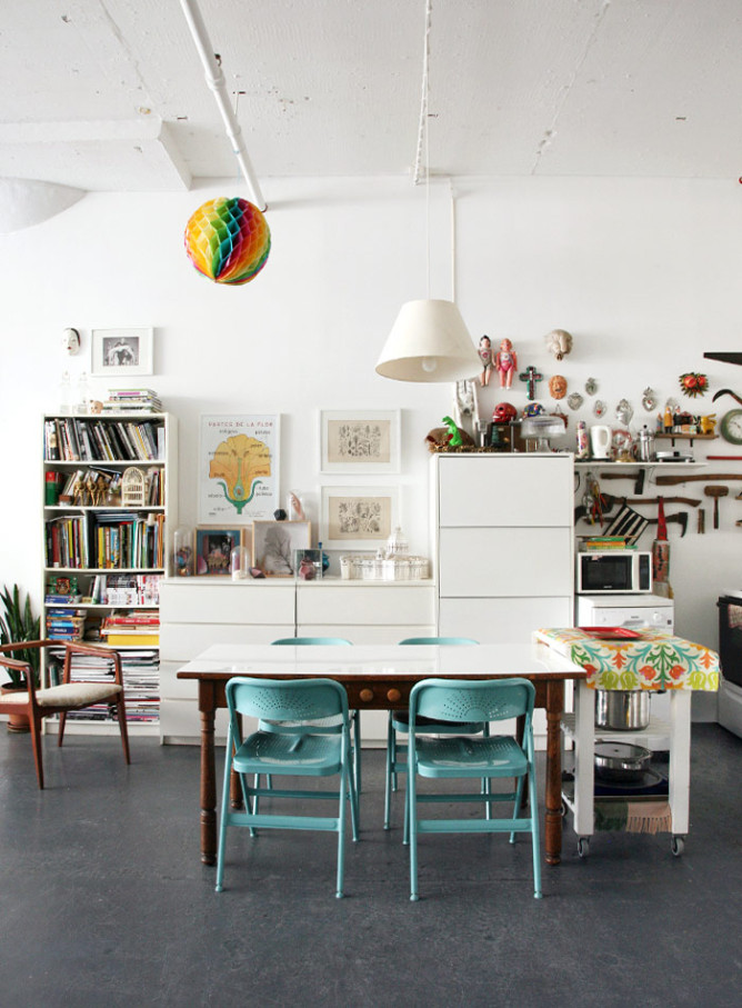 An Ever-Changing Family Loft in NY, Design*Sponge