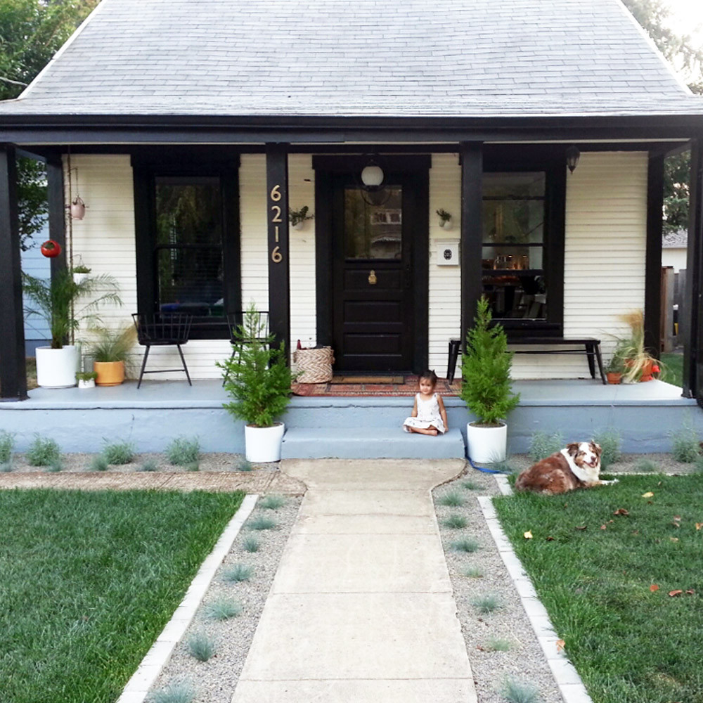 Before & After: The Little NoPo Farmhouse Yard | Design*Sponge on Farmhouse Backyard Landscaping id=85350