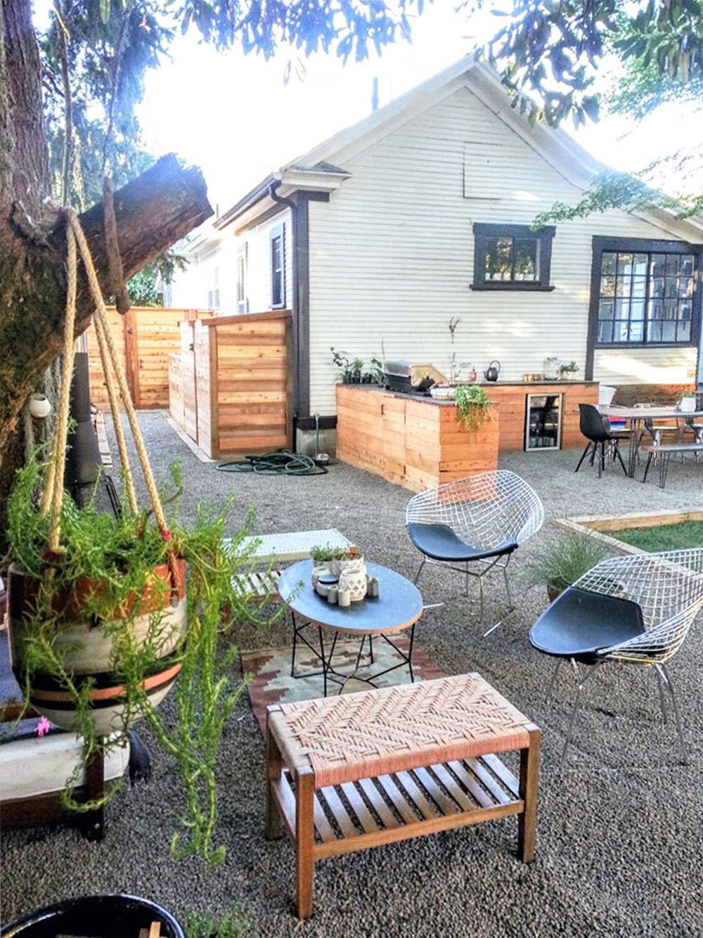 Before & After: The Little NoPo Farmhouse Yard | Design*Sponge on Farmhouse Backyard Landscaping id=88151