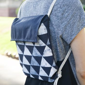 Back to School: DIY Minimalist Backpack