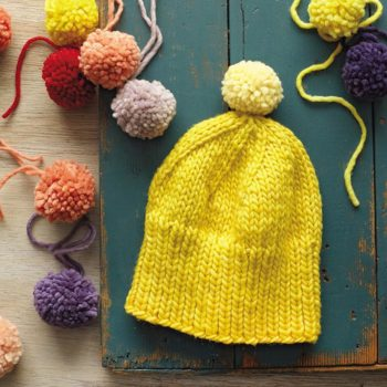 DIY Knit Hat from <em>The Modern Natural Dyer</em>