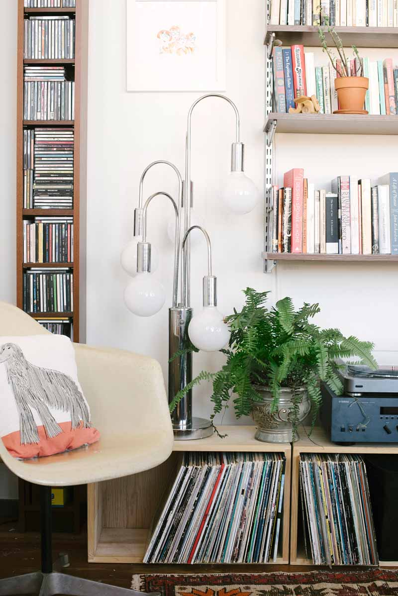 An Eclectic and Dreamy Loft For A Young, Book-Loving Family in Oakland, CA