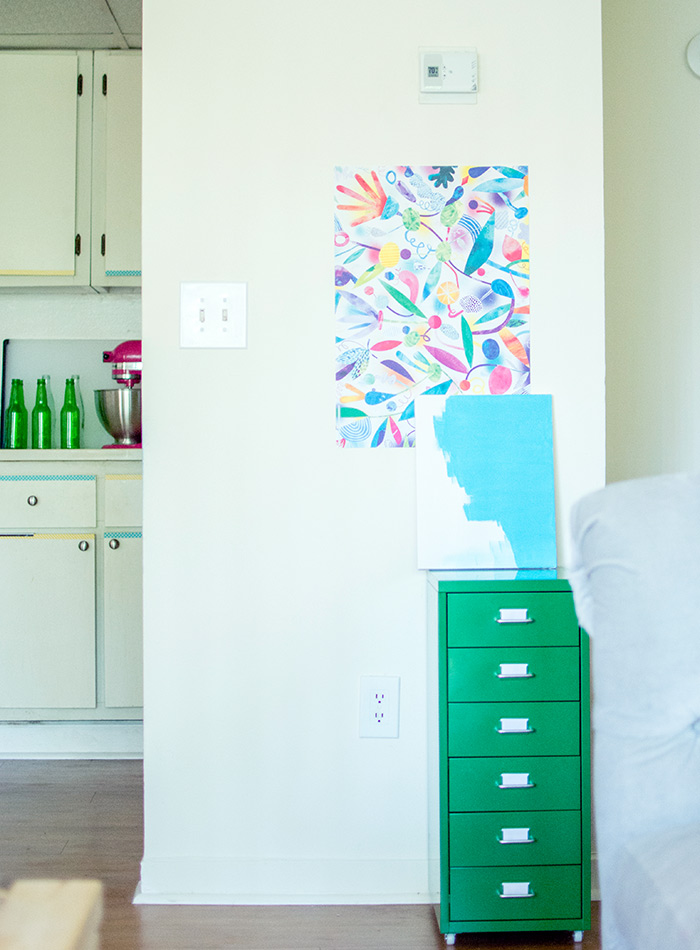 Newlyweds Breathe Color into a Miami Rental, Design*Sponge
