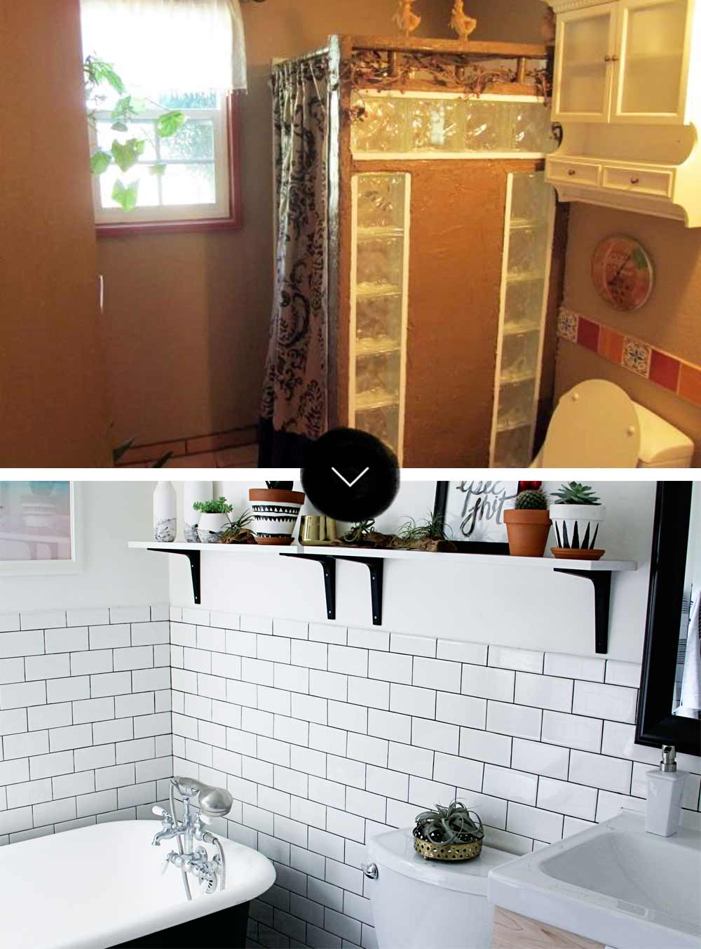 Before After A Modern Bohemian Fixer Upper In Southern California On Design