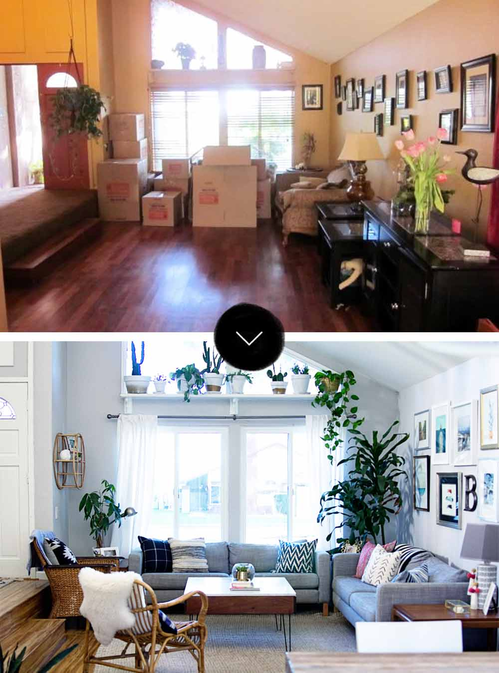 Before Amp After A Modern Bohemian Fixer Upper In Southern