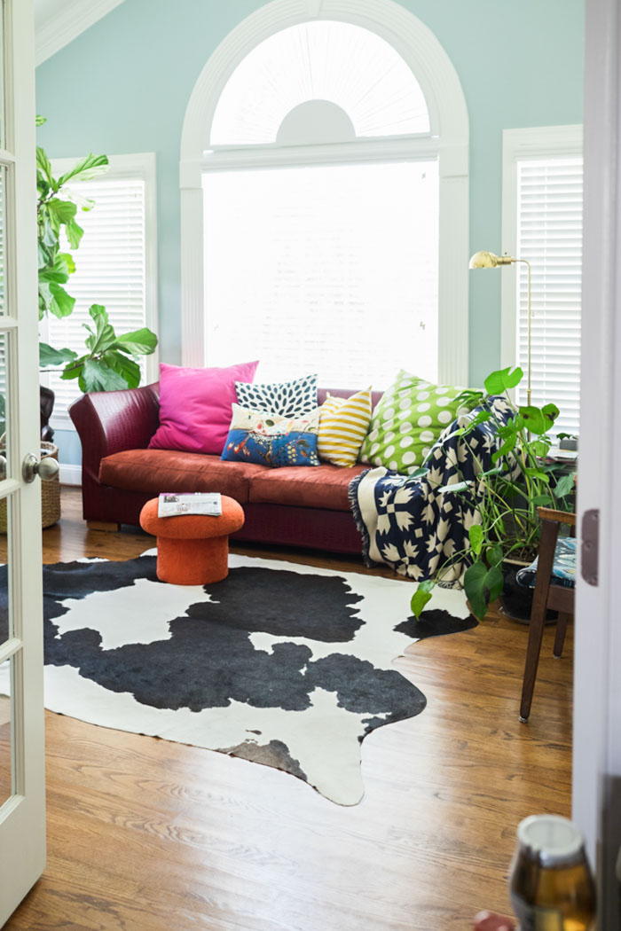 A Vibrant, Sophisticated Home in Fayetteville | Design*Sponge