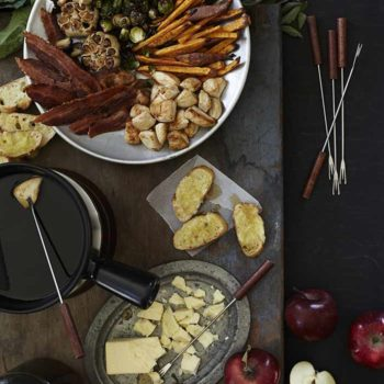 In the Kitchen With: Laura and Dana's Maple Syrup Fondue