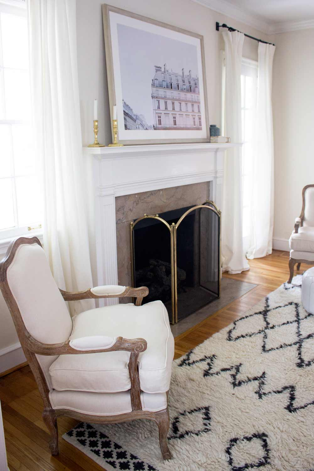 Before & After: Blue Door Living Progress, on Design*Sponge