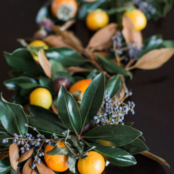 Best of the Web + Magnolia and Fruit Garland by JM Flora