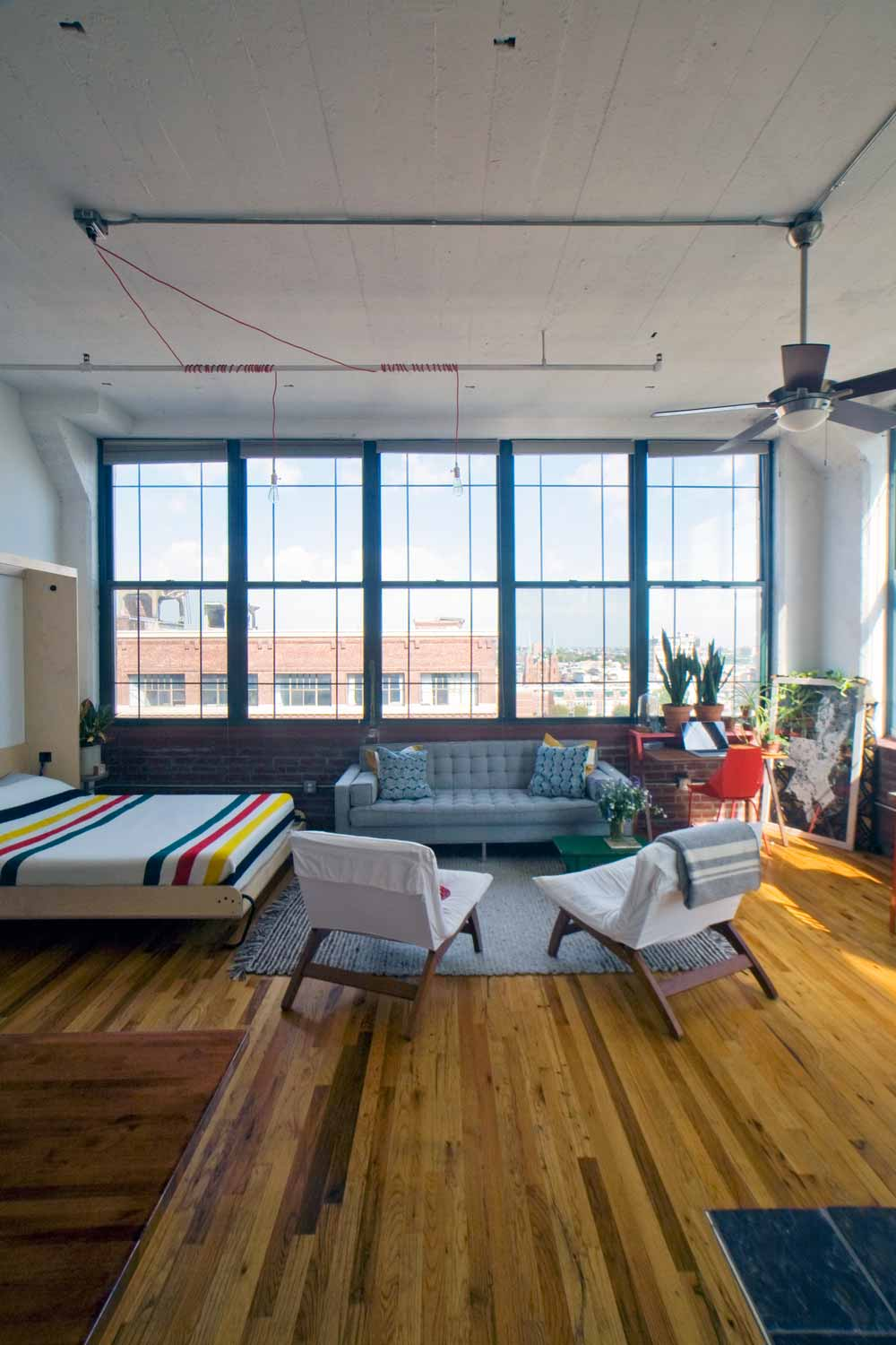 The Philly Love Notes Loft, on Design*Sponge