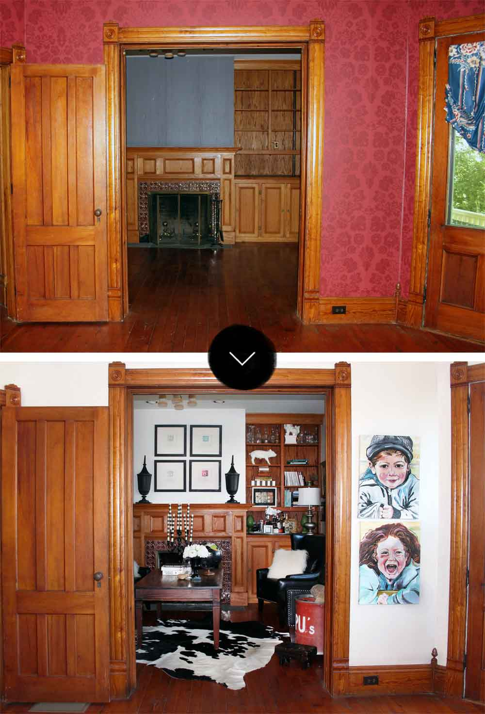 Before & After: The Drooz Studio Farmhouse, on Design*Sponge