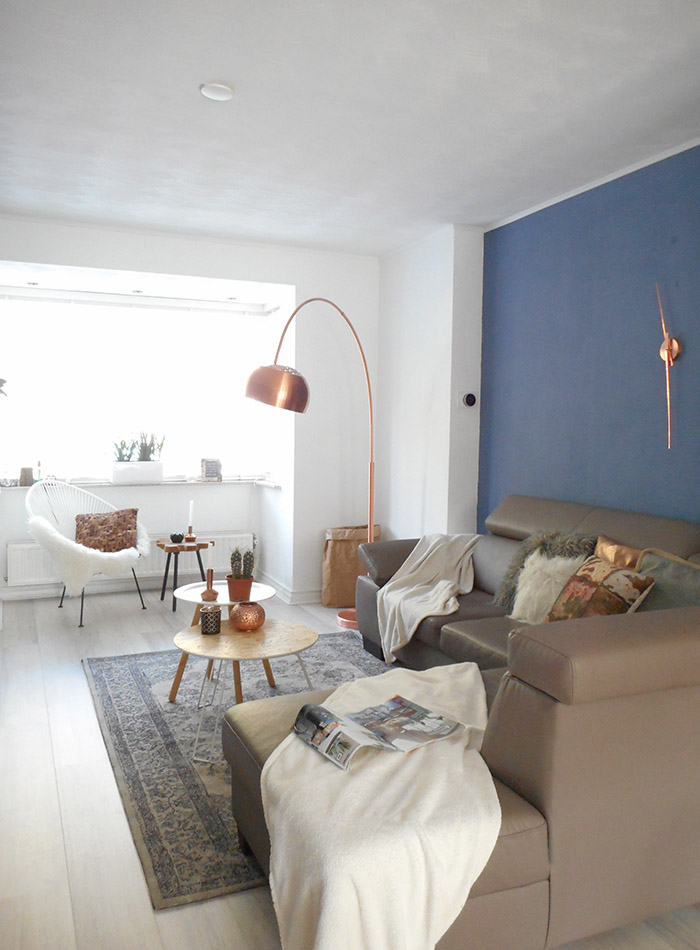 Flexa Blueberry Dream.A Dutch Home With Pretty Paint And Clean Lines Design Sponge