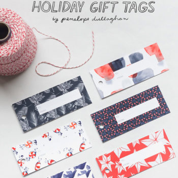 Printable Freebie: Holiday Gift Tags