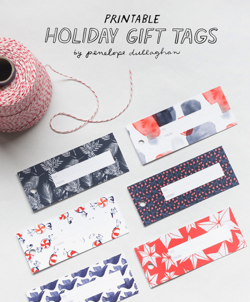 image about Printable Freebie called Printable Freebie: Vacation Present Tags Style and design*Sponge