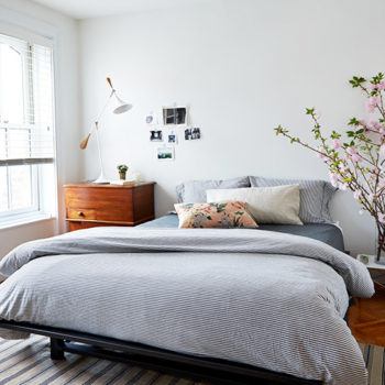 A Medical Resident's Modern & Budget-Friendly Brownstone